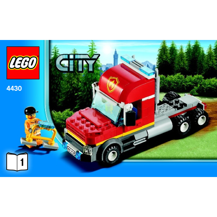 Lego Fire Transporter Set 4430 Instructions Brick Owl Lego