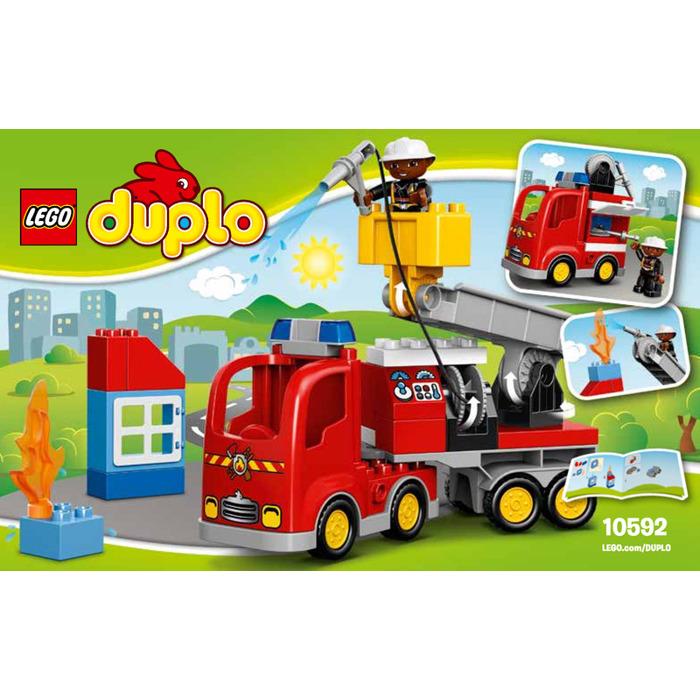 Lego Fire Truck Set 10592 Instructions Brick Owl Lego Marketplace