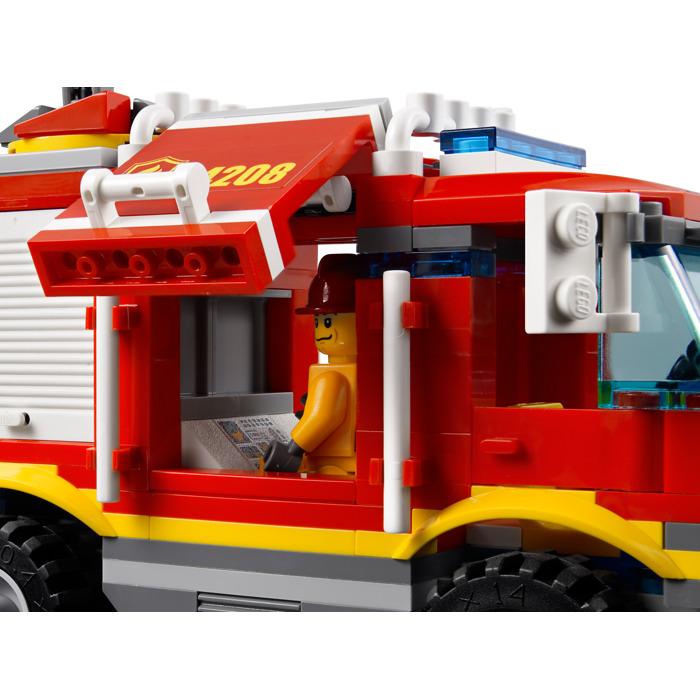 Lego Fire Truck Set 4208 Brick Owl Lego Marketplace