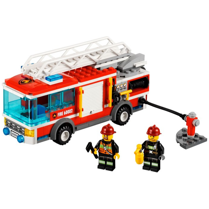 lego fire truck instructions 60002