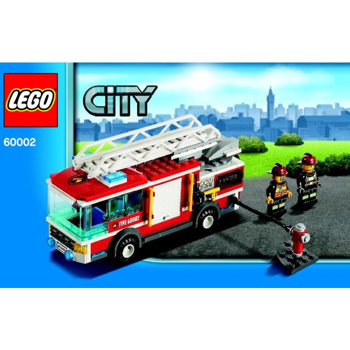 Lego Fire Truck Set 60002 Instructions Brick Owl Lego Marketplace