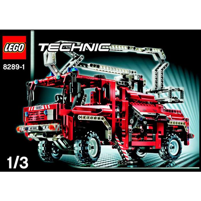 Lego Fire Truck Set 8289 Instructions Brick Owl Lego Marketplace