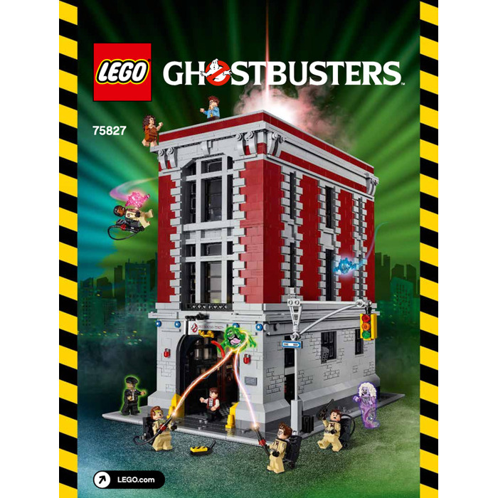 Lego Firehouse Headquarters Set 75827 Instructions Brick Owl