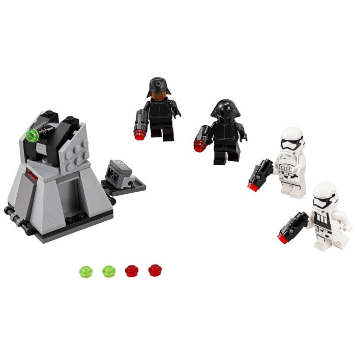 lego star wars first order battle pack instructions