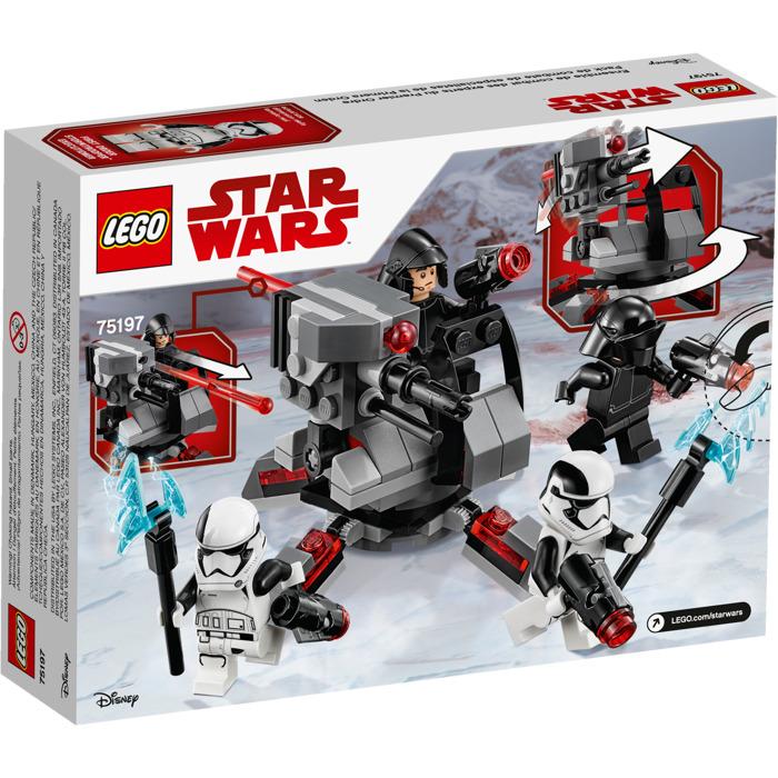 Lego Star Wars Stormtrooper Battle Pack Instructions