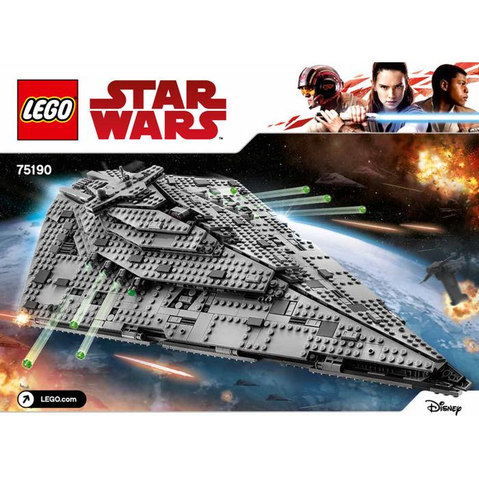 Lego First Order Star Destroyer Set 75190 Instructions Brick Owl