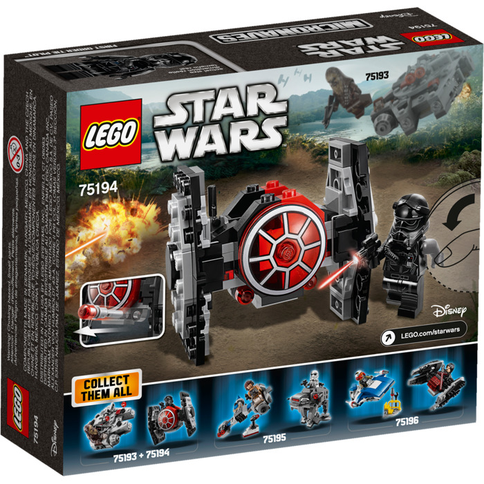 Lego Star Wars 75194 First Order TIE Fighter Microfighter Set NEW SEALED