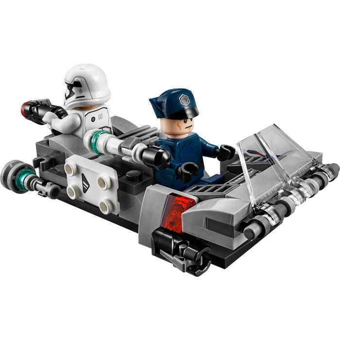 Lego first order transport speeder battle pack set 75166 for Siege lego france
