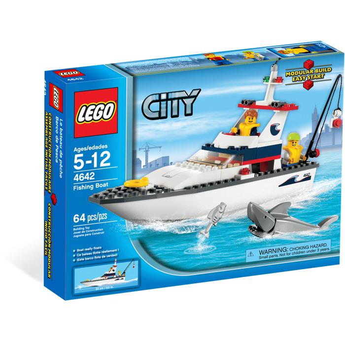 LEGO Fishing Boat Set 4642 | Brick Owl - LEGO Marketplace