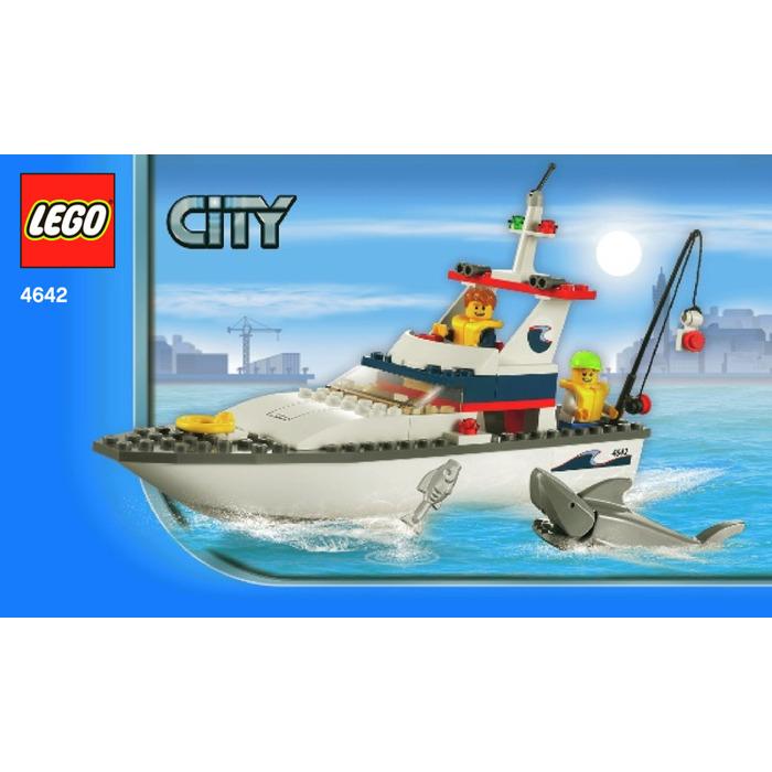 Lego Fishing Boat Set 4642 Instructions Brick Owl Lego Marketplace