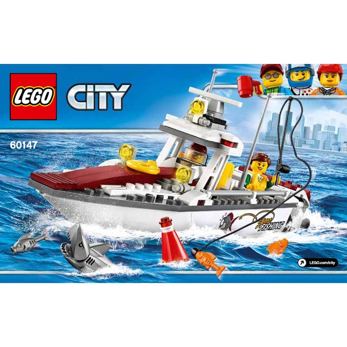lego fishing boat instructions