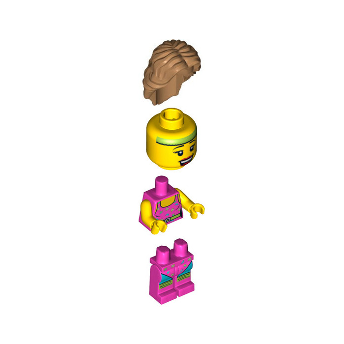 LEGO Fitness Instructor Minifigure