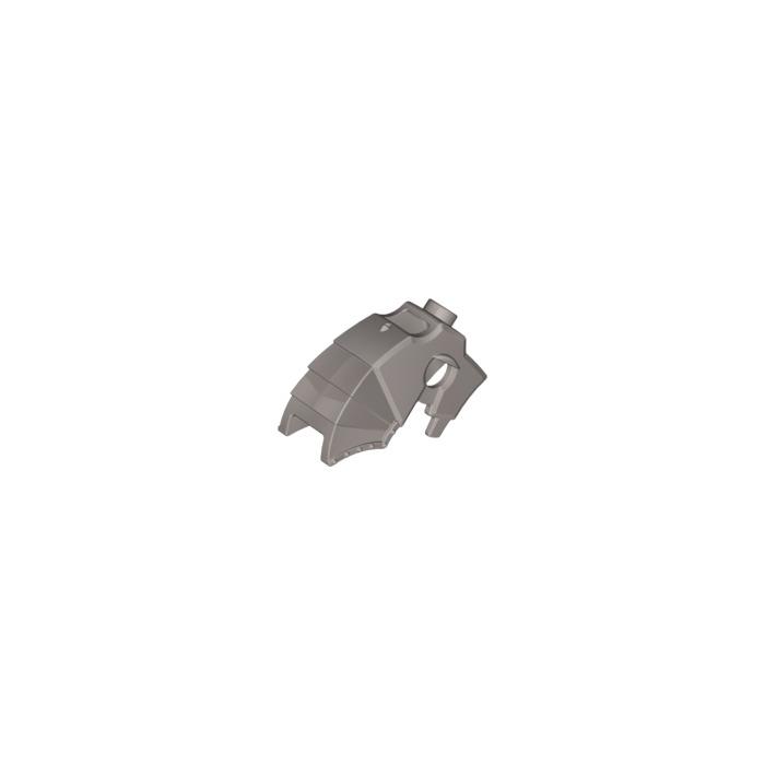 LEGO Flat Silver Horse Head Armor (89524)