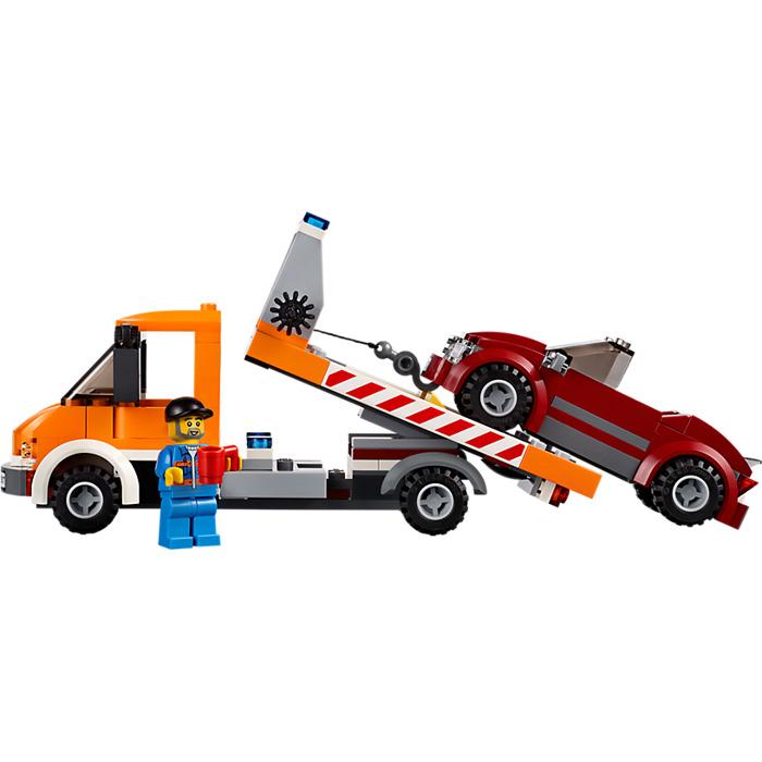 Flatbed Tow Truck >> LEGO Flatbed Truck Set 60017   Brick Owl - LEGO Marketplace