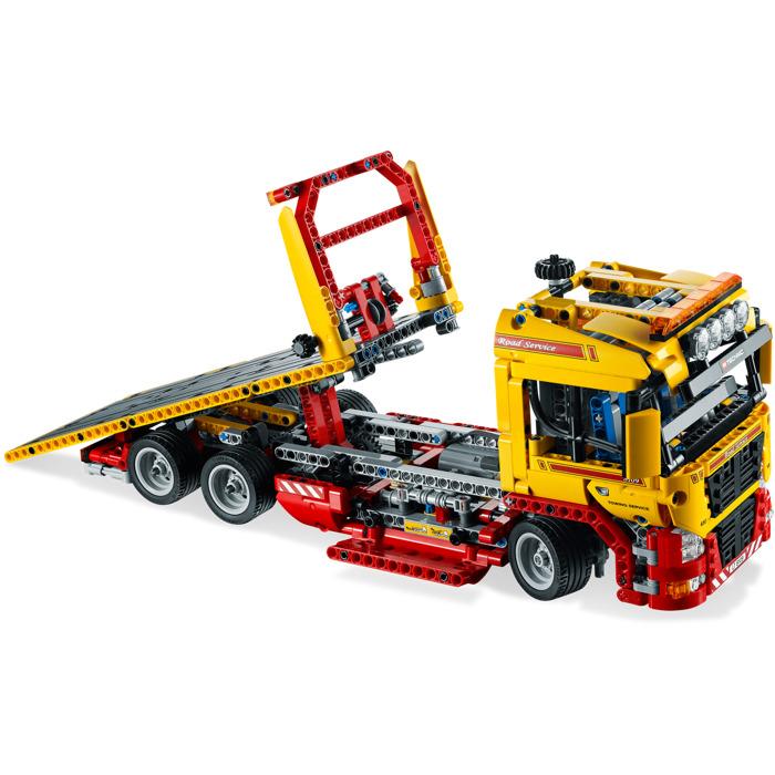 lego flatbed truck set 8109 brick owl lego marketplace. Black Bedroom Furniture Sets. Home Design Ideas