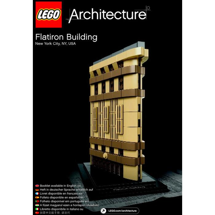 lego architecture flatiron building instructions