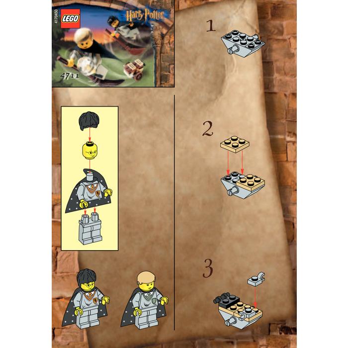 Flying Lesson HARRY POTTER INSTRUCTION MANUAL LEGO 4711