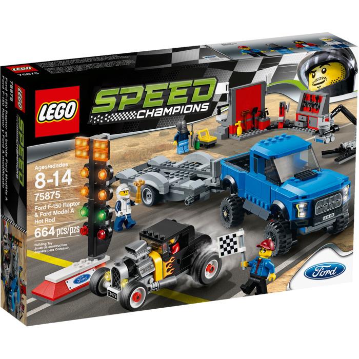 LEGO Ford F-150 Raptor & Ford Model A Hot Rod Set 75875 | Brick Owl ...