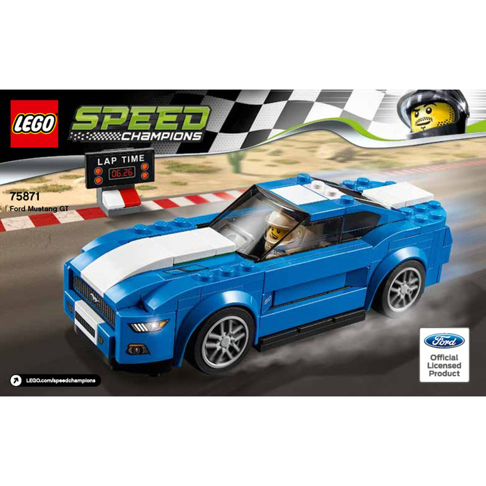 lego ford mustang gt set 75871 instructions brick owl lego marketplace. Black Bedroom Furniture Sets. Home Design Ideas