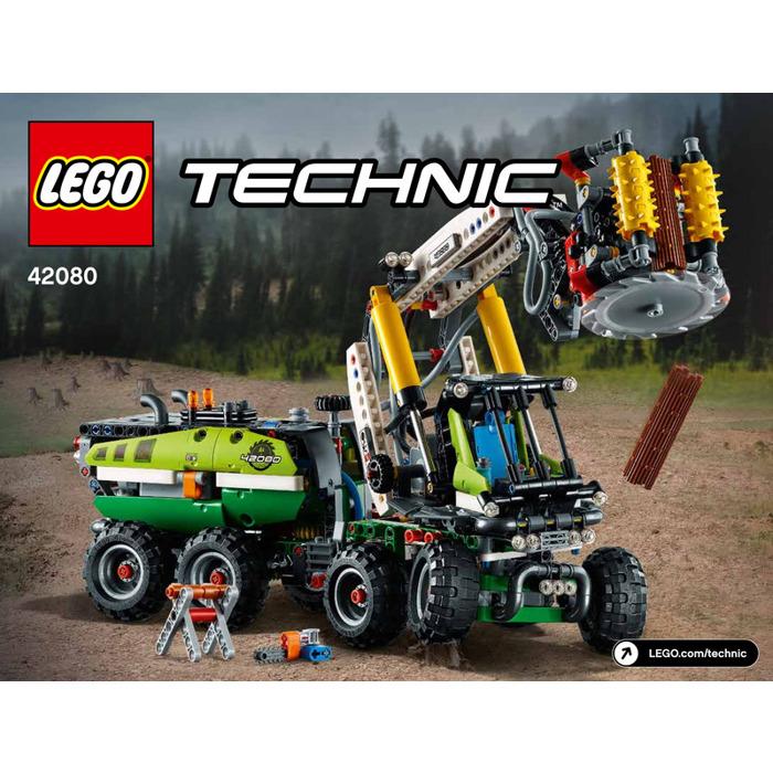 Lego Forest Harvester Set 42080 Instructions Brick Owl Lego