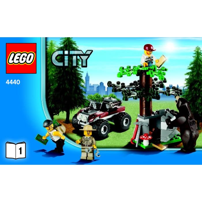 Lego Forest Police Station Set 4440 Instructions Brick Owl Lego