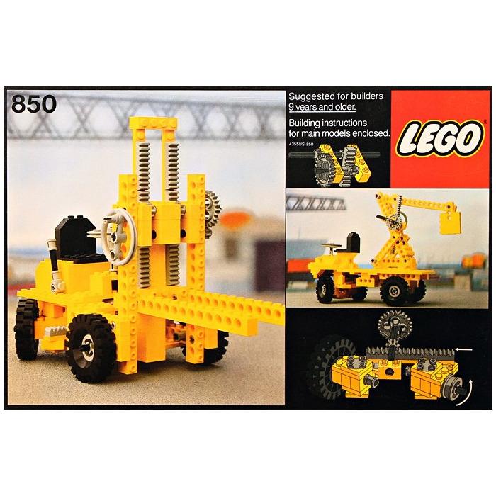 Lego Fork Lift Truck Set 850 Inventory Brick Owl Lego