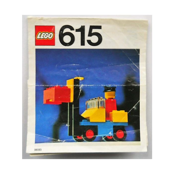 Lego Forklift Set 615 2 Instructions Brick Owl Lego Marketplace