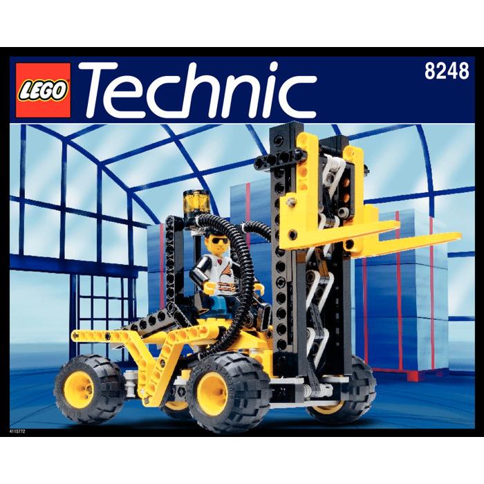 Lego Forklift Set 8248 Instructions Brick Owl Lego Marketplace