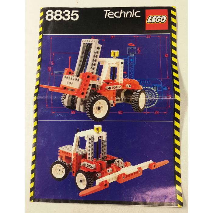Lego Forklift Set 8835 Instructions Brick Owl Lego Marketplace