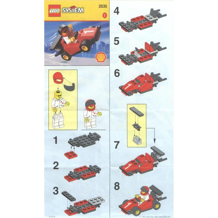 Lego Formula 1 Racing Car Set 2535 Instructions Brick Owl Lego Marketplace
