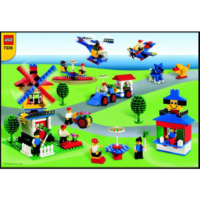 LEGO Foundation Set - Blue Bucket 7335 Instructions | Brick Owl ...