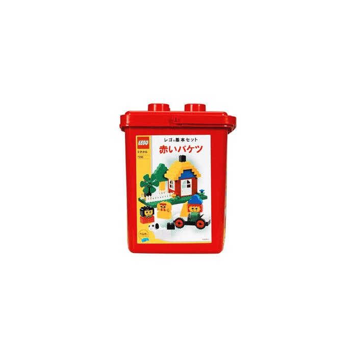 LEGO Foundation Set - Red Bucket 7336 | Brick Owl - LEGO Marketplace