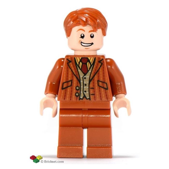 LEGO Fred And George Weasley Minifigure