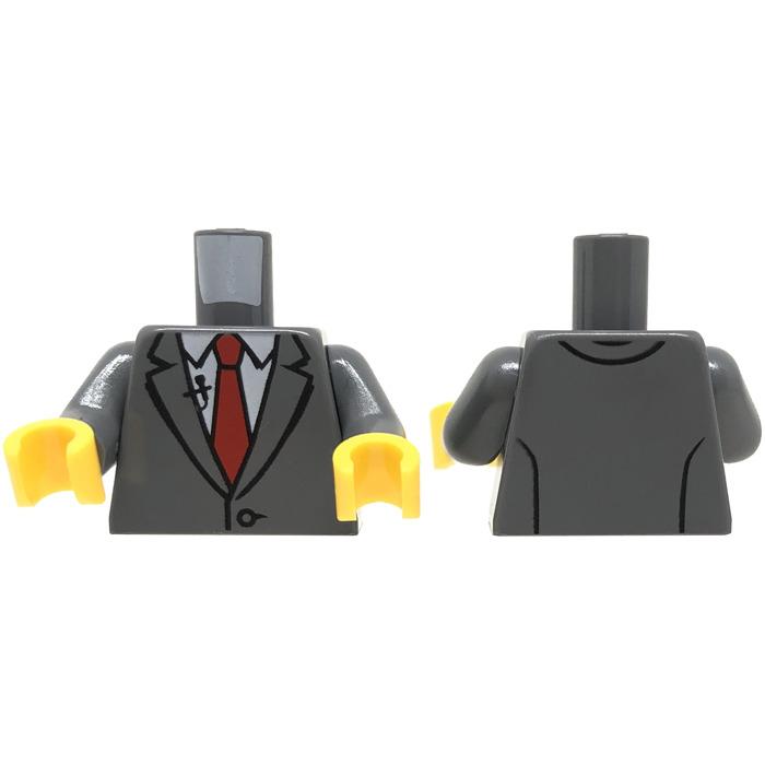 LEGO Fred Finley Minifig Torso (76382)