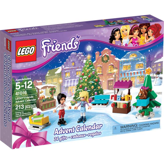 Lego Calendrier.Lego Friends Advent Calendar 2013 Set 41016
