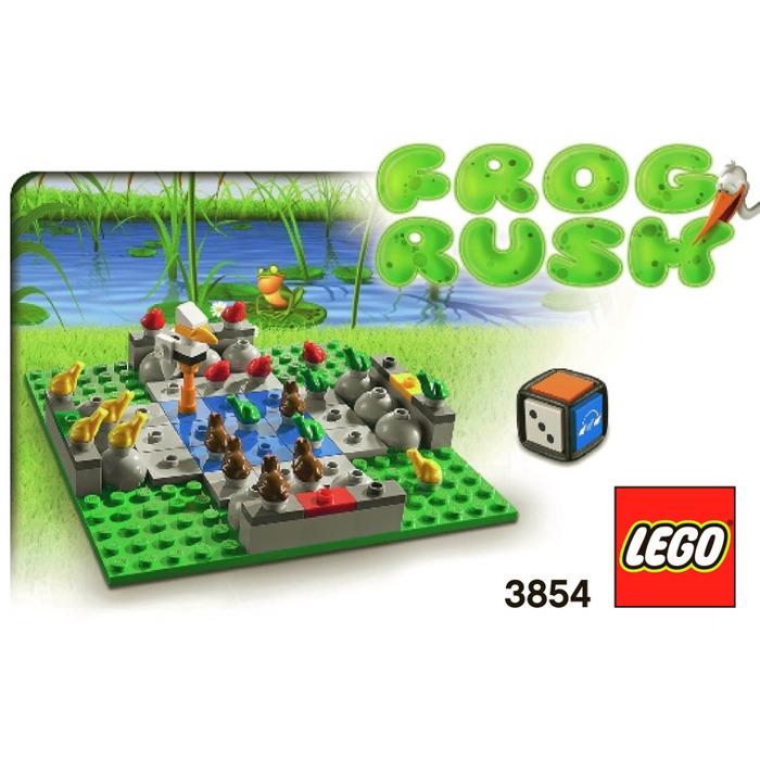 Lego Frog Rush 3854 Instructions Brick Owl Lego Marketplace