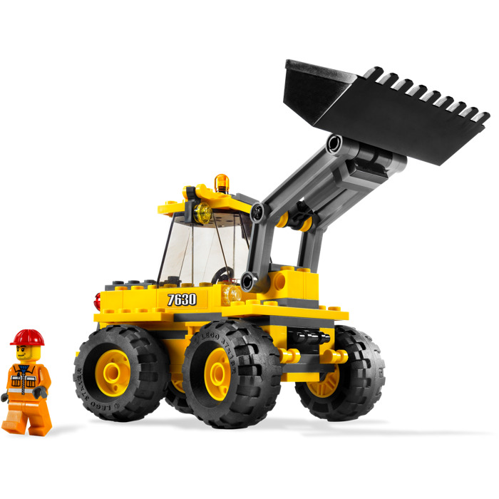 lego front loader instructions