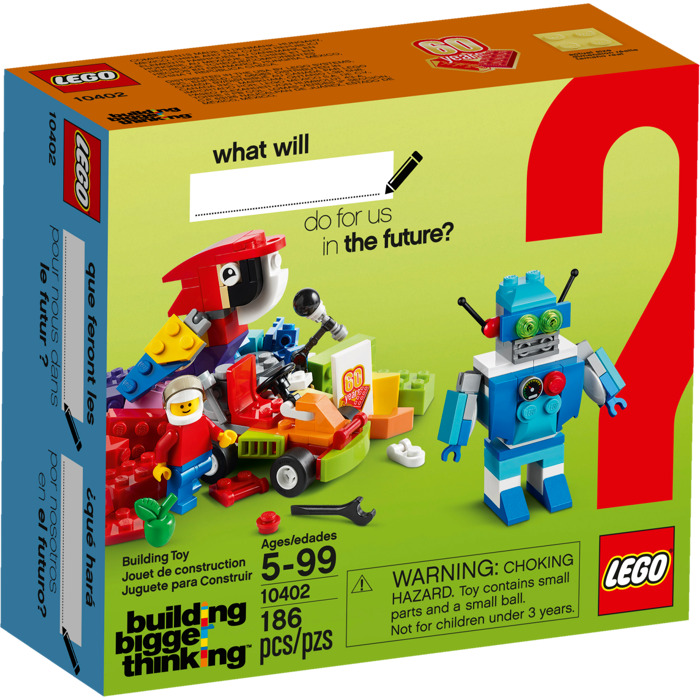 lego building for the future