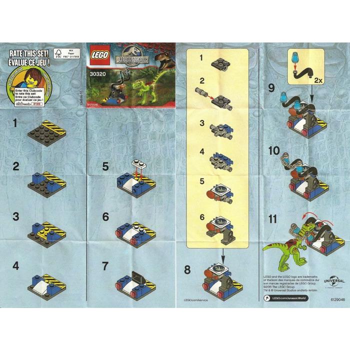 Lego Gallimimus Trap Set 30320 Instructions Brick Owl Lego