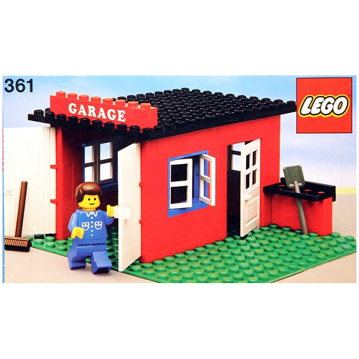Lego Garage Set 361 2 Brick Owl Lego Marketplace