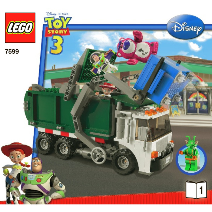 Lego Garbage Truck Getaway Set 7599 Instructions Brick Owl Lego