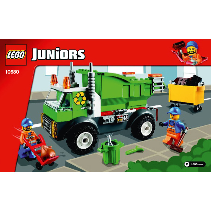 Lego Garbage Truck Set 10680 Instructions Brick Owl Lego Marketplace