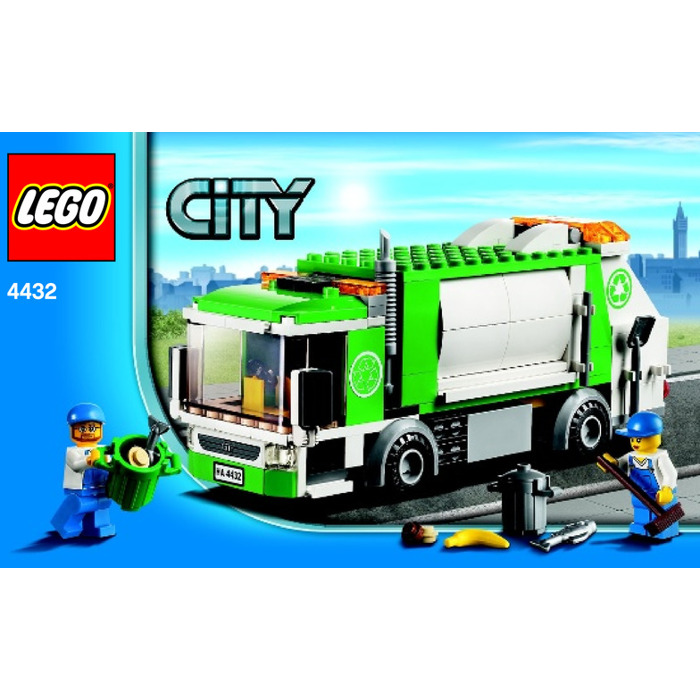 LEGO Garbage Truck Set 4432 Instructions