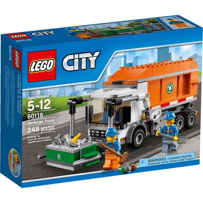 Lego Garbage Truck Set 60118 Brick Owl Lego Marketplace