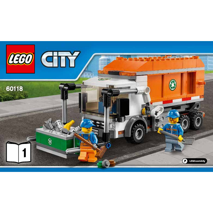 Lego Garbage Truck Set 60118 Instructions Brick Owl Lego Marketplace