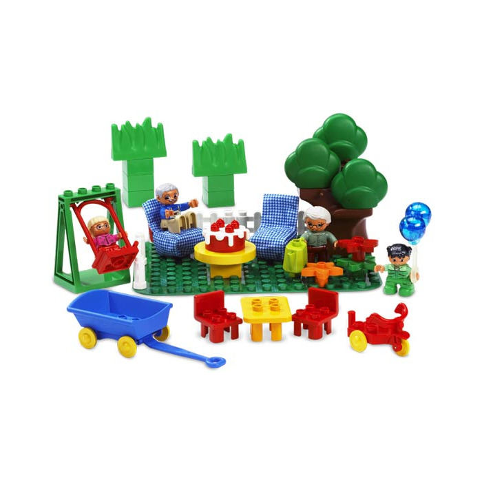 LEGO Duplo Table 3 x 4 x 1.5 (6479) Comes In | Brick Owl - LEGO ...