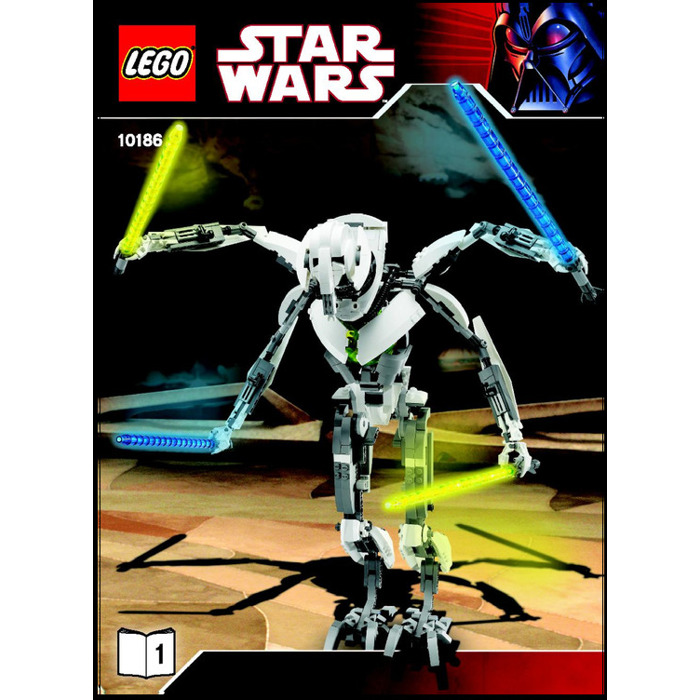 Lego General Grievous Set 10186 Instructions Brick Owl Lego