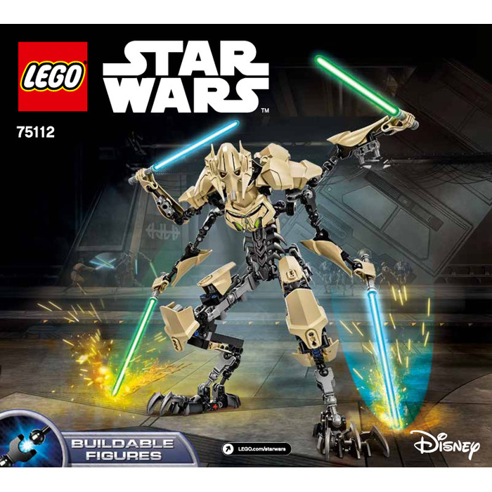 Lego General Grievous Set 75112 Instructions Brick Owl Lego