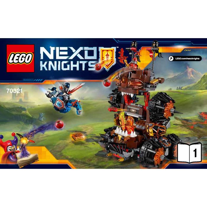 Lego general magmar 39 s siege machine of doom set 70321 for Siege lego france