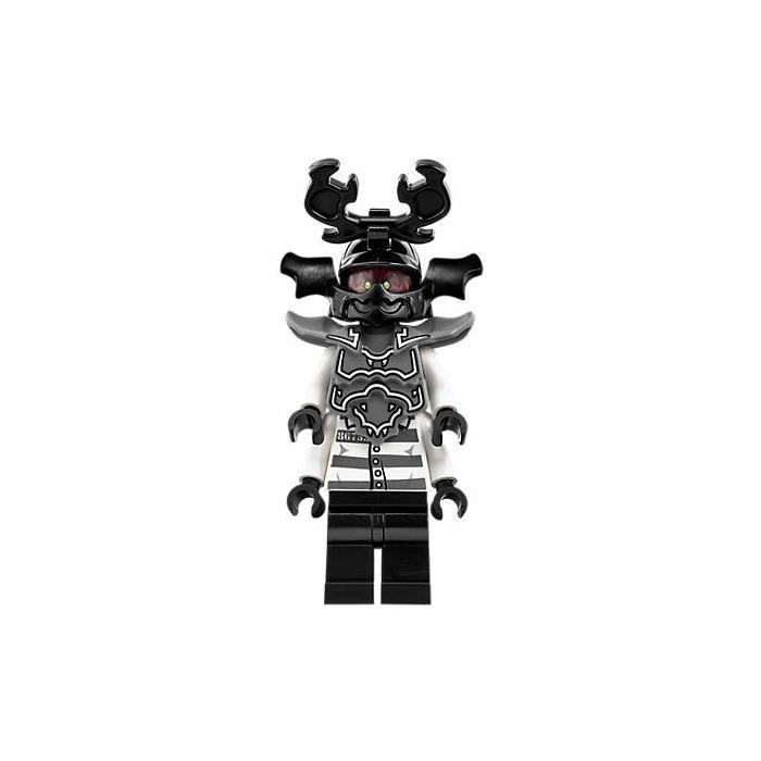 LEGO Black Samurai Helmet with Ø3.2 Holder (98128) Comes ...